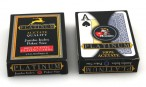 Zweierpaket Modiano Platinum 100% Acetate Jumbo Index Poker Karten, rot und blau