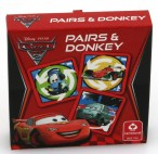 Disney Pixar Cars 2 Memo Spiel & Schwarzer Peter, Cartamundi 22575223