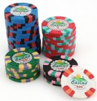 JOKER Clay Composite Poker Chip with value print Image 2