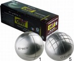BI - PÔLE, hardness, carbon alloy steel, Obut Competition Boules