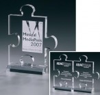 Puzzle Award - Acrylic glass - trophy
