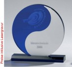 Yin and Yang Trophy, Acryl Glas - Trophäe