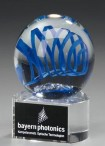 Trieste Award - Artglass Trophie - glass Trophy
