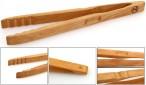 Grillzange - Küchenzange Zetzsche 30 cm lang aus Buchen Holz, made in Germany