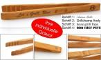 Grillzange Küchenzange Zetzsche 30 cm lang mit individueller Gravur Top Geschenk