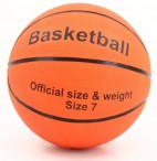 Basketball ORANGE official size and weight
