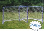 Soccer Goal MINI TWIN SET, two small 78cm Soccer goals Image 3
