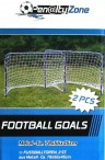 Soccer Goal MINI TWIN SET, two small 78cm Soccer goals