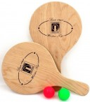 Mini Beachball Set wood, Made in Italy