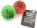 Two Replacement balls for foam Baseball-Kits Mini, Midi, Maxi in meshbag
