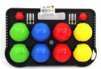 Bandito BOCCIA / BOULES, plastic with scoreboard and jacks - made in Italy Image 2