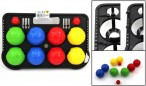 Bandito BOCCIA / BOULES, plastic with scoreboard and jacks - made in Italy