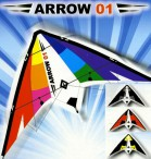 Sport - Lenkdrachen ARROW 01, 2 - Leiner, Knoop Bild 3