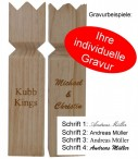 Kubb Original SEMI PRO with engraving, the original from Sweden Image 2