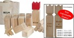 Kubb Original SEMI PRO with engraving, the original from Sweden