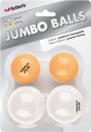 Butterfly Jumbo Balls for table - tennis (4 pcs)