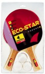Table-Tennis-Set Eco 1-Star, for hobby players by Bandito