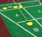 Shuffleboard Euro Court Set, komplettes Spiel Bild 4