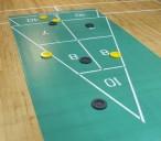 Shuffleboard Maxi Roll Out Court Set, komplettes Spiel Bild 2