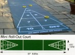 Shuffleboard Mini Roll Out Court, without Equipment