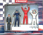 Siegerpodest mit Figuren, Carrera Figuren, 21121