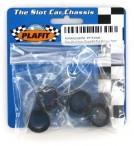 Slotcar Reifen Super24 Tire 22x11 mm hart Plafit PF1743MA (4 Stück)