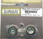 Moosgummi Räder ProComp-2 F15 20,5x11 3/32 SC2008