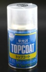 Gunze Top Coat Klarlack seidenmatt, Spraydose