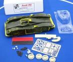 Audi R8 GFK Slotcar Kit 1:24, Slotracingwerk