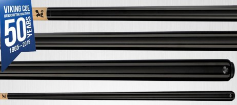 A203 Midnight Black Stain Viking Cue - Finest Pool Cues Made in America