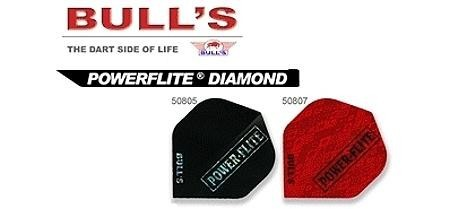 Bull's Powerflite, Standard Dart Flights, 3er Set
