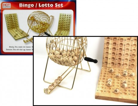 Bingo / Lotto Deluxe Set from Longfield