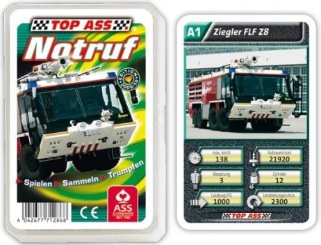 Notruf - Technik Quartett TOP ASS 71286