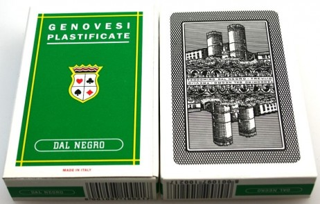 2 pieces of Dal Negro Genovesi 36, Playing cards from Italy