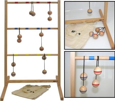 leitergolf spin ladder das leiter golf spiel aus holz. Black Bedroom Furniture Sets. Home Design Ideas
