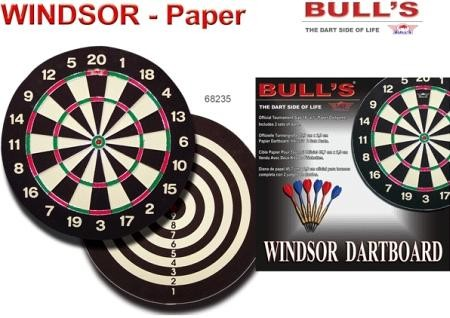 Windsor Paper Board Dartscheibe