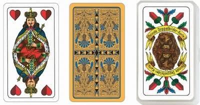 SKAT, Sächsisches Bild ASS Qualität Spielkarten