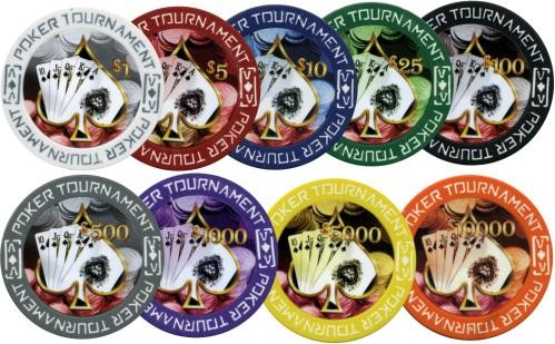 poker tournament clay pokerchips - Clay Poker Chips