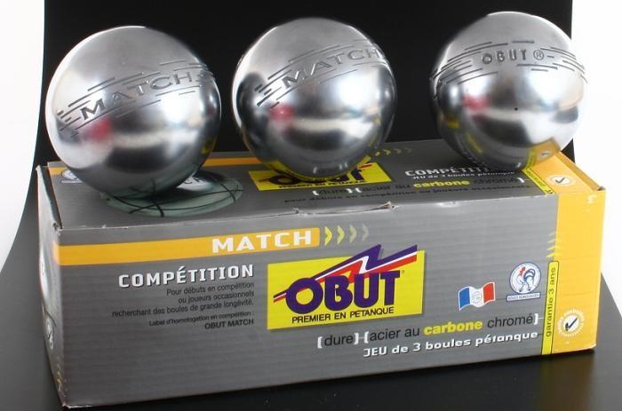 MATCH Design T, Obut Boule Wettkampfkugeln