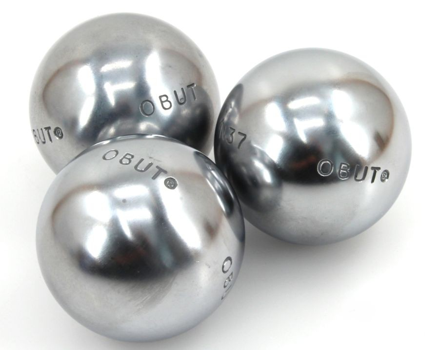 COMPETITION JUNIOR, Obut Boule Wettkampfkugeln, Riffelung 0, Gewicht 660 g