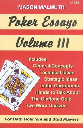 essays on poker