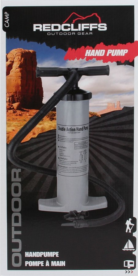Doppelhub Luftpumpe Air Hammer mit 2 x 2 Liter Volumen