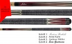 VA303 Pool Billard cue, Valhalla by Viking, with engraving