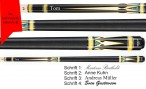 VA950 Pool Billard Queue, Valhalla by Viking mit Gravur, Geschenk Idee