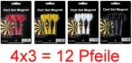 4 Set Replacement magnetic darts (12 pc.) for magnetic dartboard