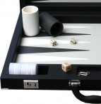 Design Backgammon Case Dal Negro, black Image 4