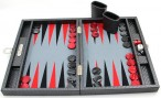 Backgammon Cosmos Black Medium, Alcantara inside, Hector Saxe, Paris