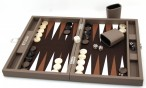 Backgammon BUFFALO B20L  Terre Medium, Alcantara playground, Hector Saxe, Paris
