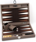 Backgammon BUFFALO B20L  Terre Medium, Alcantara playground, Hector Saxe, Paris Image 3