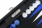 Backgammon BUFFALO B20L Anthracite Medium, Alcantara, Hector Saxe, Paris Image 2
